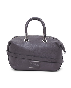 Leather New Too Hot To Handle Satchel