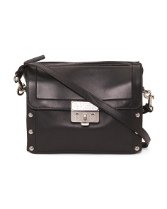 Espionage Leather Satchel