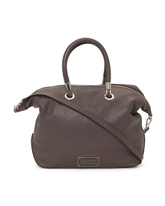 Too Hot To Handle Leather Satchel