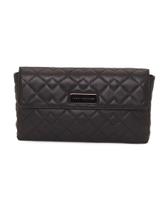 Crosby Quilt Jemma Leather Clutch