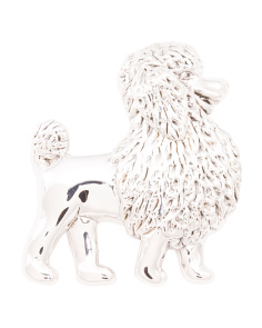 Made In Israel Sterling Silver Poodle Pin