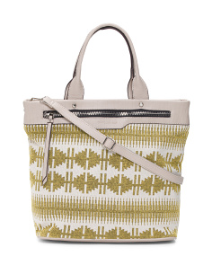 Large Tote With Shoulder Strap