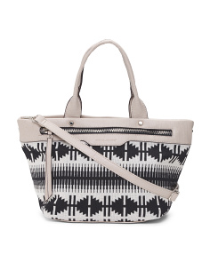 Tote With Shoulder Strap
