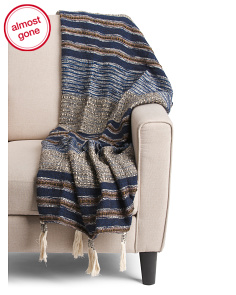 Tassel Textured Throw