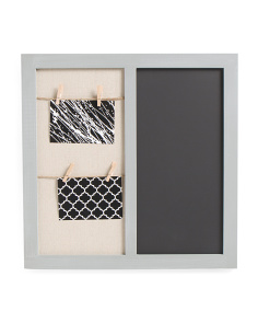 Wall Chalk Board With Clips