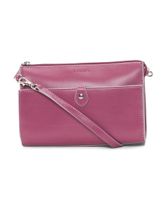 Vicky Convertible Leather Crossbody