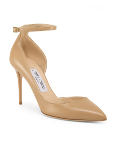 Made In Italy D'orsay Leather Pumps