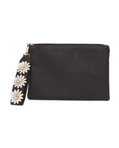 Evening Clutch With Floral Detail