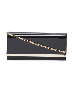 Made In Italy Patent Leather Clutch