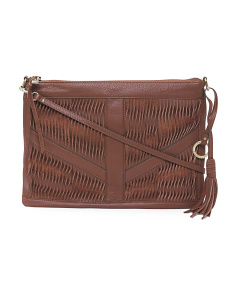 Modern Twist Leather Crossbody