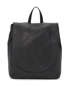 Day To Day Leather Backpack