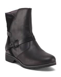 Waterproof Leather Comfort Boots