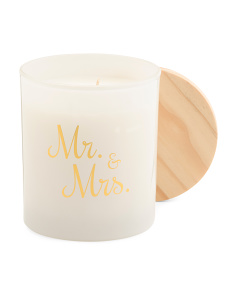 11oz Mr And Mrs Candle