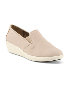Wide Twin Gore Athleisure Wedges