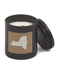 New York Wood Wick Candle