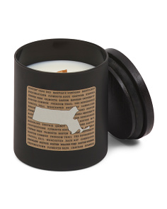 Boston Wood Wick Candle