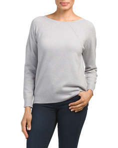 Merino Wool Blend Lightweight Sweater