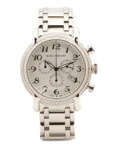 Women's Swiss Made Diamond Bezel Bracelet Watch