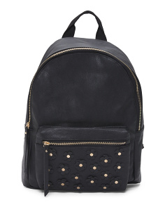 Floral Applique Backpack