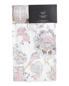 50x96 Set Of 2 Amaryllis Curtains