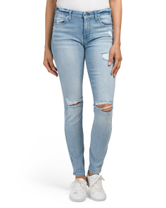 Made In USA The Skinny With Destruction Jeans