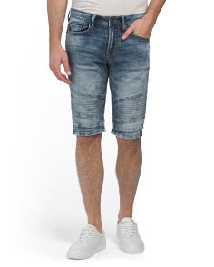 Parker X Moto Denim Shorts