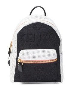 Kombo Leather Backpack