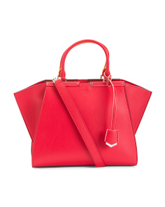 Made In Italy 3jours Leather Tote