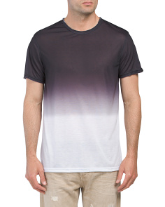 Short Sleeve Ombre Print Tee