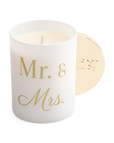 Mr And Mrs Island Retreat Candle