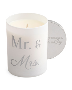 Mr And Mrs Sweet Peony Candle