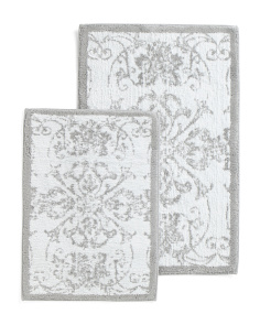 Made In India 2pk Veronica Rug Set