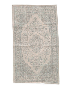 Made In India Tapestry Accent Rug