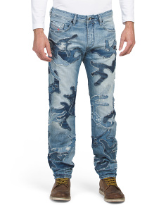 Made In Italy Buster Slim Tapered Jeans