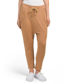 Juniors Tie Waist Jogger Pants