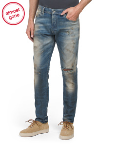 Made In Italy Tepphar Carrot Slim Jeans