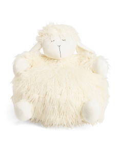 Kids Mongolian Faux Fur Sheep Seat