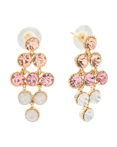 Ombre Crystal Statement Earrings