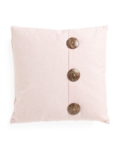 20x20 Button Pillow