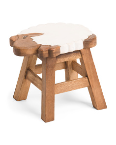 Kids Little Lamb Foot Stool