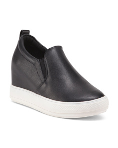 Slip On Wedge Sneakers