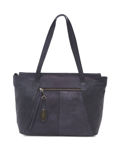 Bronco Raynna Leather Tote