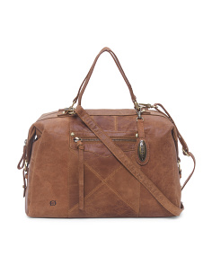 Bronco Ainslie Leather Satchel
