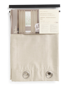 38x84 Set Of 2 Cordova Blackout Curtains