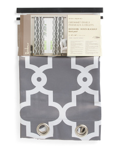38x84 Set Of 2 Irongate Blackout Curtains