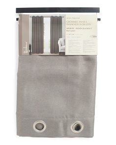 Set Of 2 38x84 Melrose Blackout Curtains
