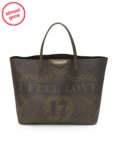 Made In Italy Leather Antigona Tote
