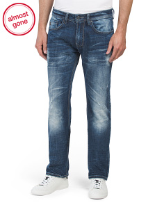 Six X Slim Straight Denim Jeans