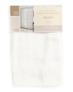 40x84 Set Of 2 Textured Sheer Curtains