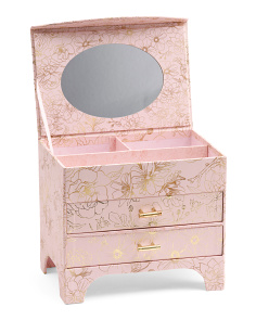 Floral Jewelry Chest